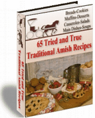 Product picture Traditional Amish Recipes with MRR